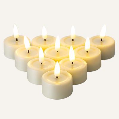 D4.1cm tealight led candle Set Of 10